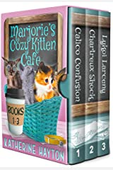 Marjorie's Cozy Kitten Cafe - Books 1-3 Kindle Edition