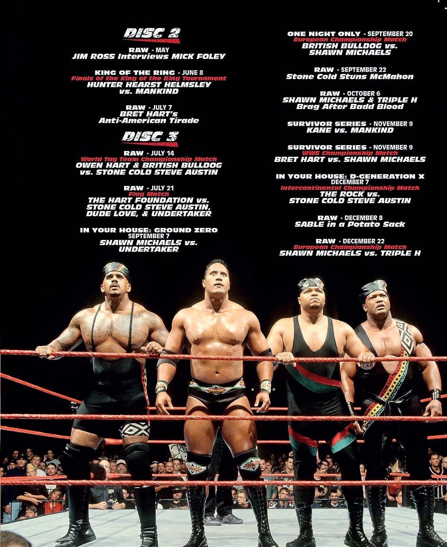WWE: 1997 - Dawn of the Attitude [DVD] [Reino Unido]: Amazon ...