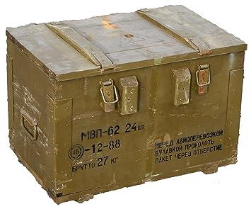mbn 62 ammunition box transport box storage box wooden wall