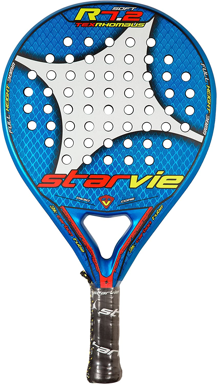 StarVie R 7.2 Tex Rhombus 2016 Pala de pádel, Unisex Adulto, Azul ...