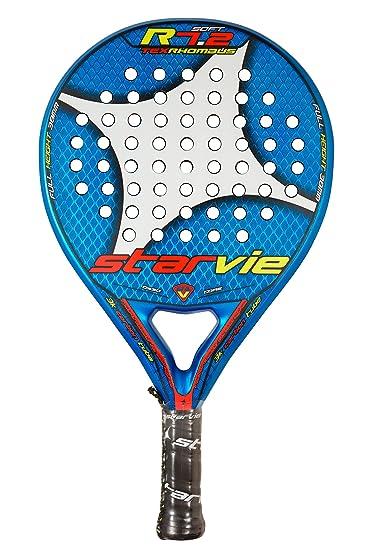 StarVie R 7.2 Tex Rhombus 2016 Pala de pádel, Unisex Adulto, Azul, 360 Gramos