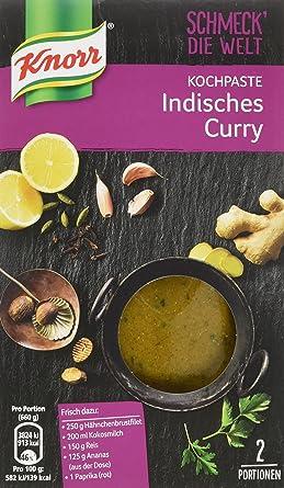 Knorr Schmeck Die Welt Kochpaste Indisches Curry 2 Portionen 12er Pack 12 X 71 G