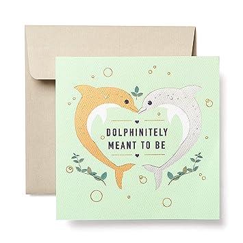 Amazon.com: Tarjeta de felicitación para pareja con diseño ...