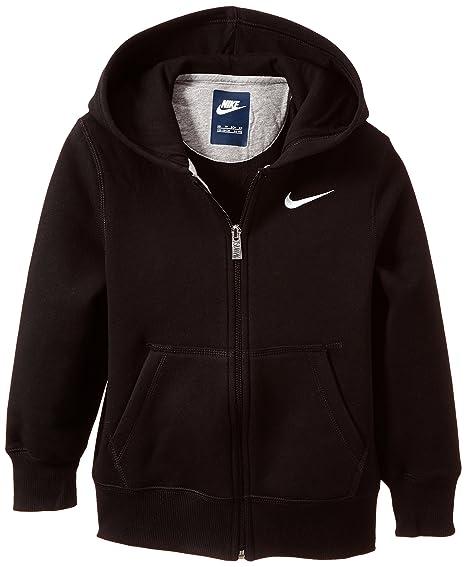 Nike Brushed Ya76 Felpa con cappuccio e cerniera, da ragazzo