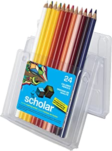 Prismacolor Scholar Pencil Set, Assorted Colors, Set of 24