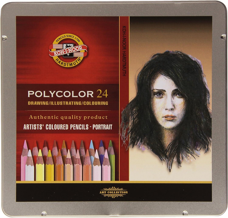 12 L/ápices de colores surtidos KOH-I-NOOR 3812 Mona Lisa