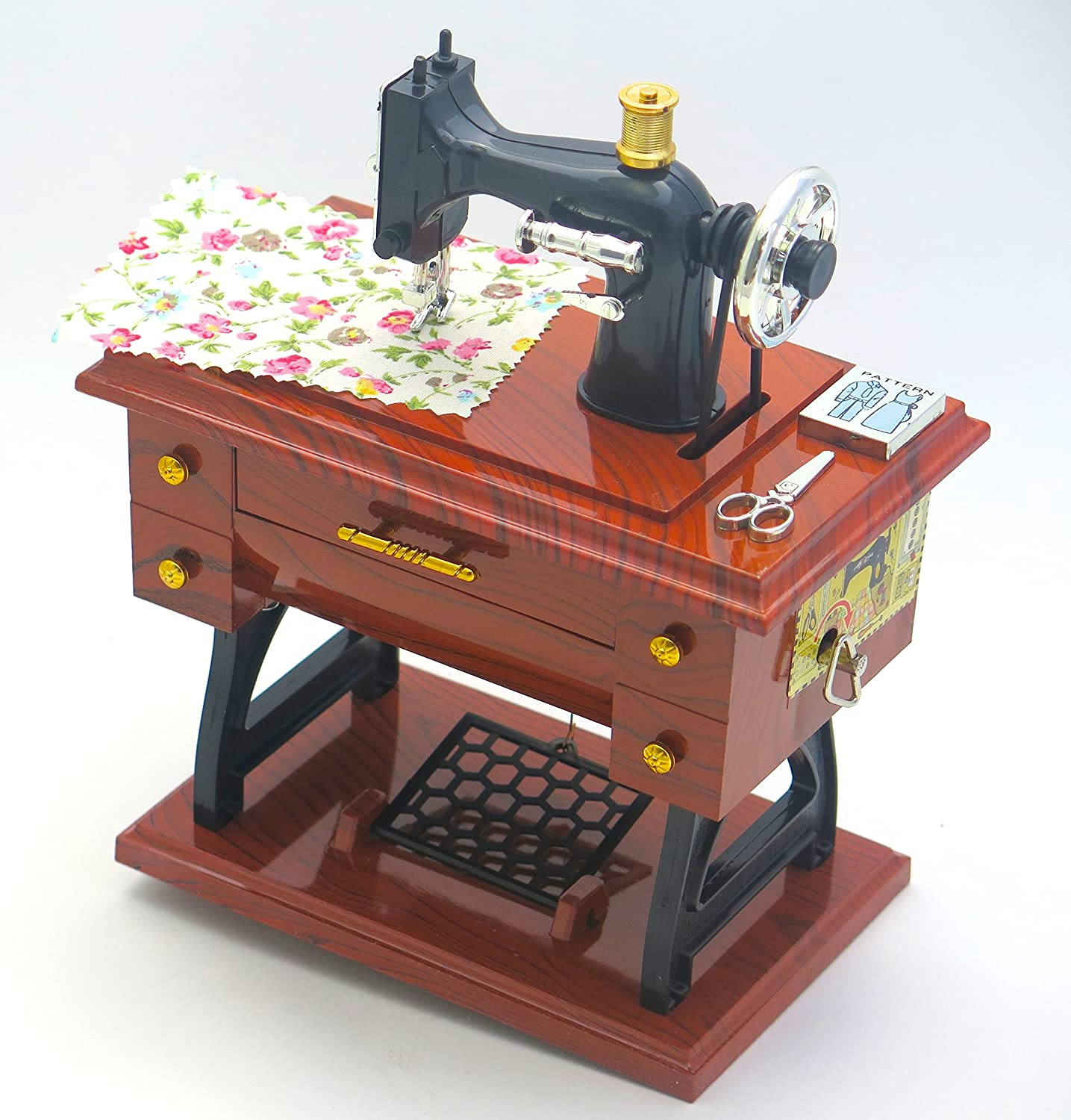 fashion designer moms birthday grandmas birthday mothers day. Sewing Machine jewelry music boxes wonderful gift for collection