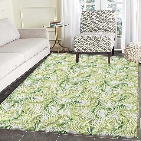 Amazon.com: Alfombra de hojas de palma para niños, diseño de ...