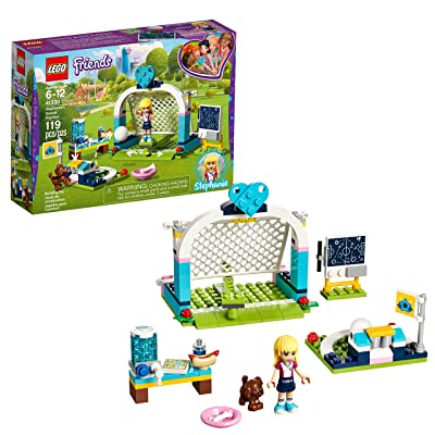 LEGO Friends Stephanie's Soccer Practice 41330 Building Set (119 Piece): Toys & Games