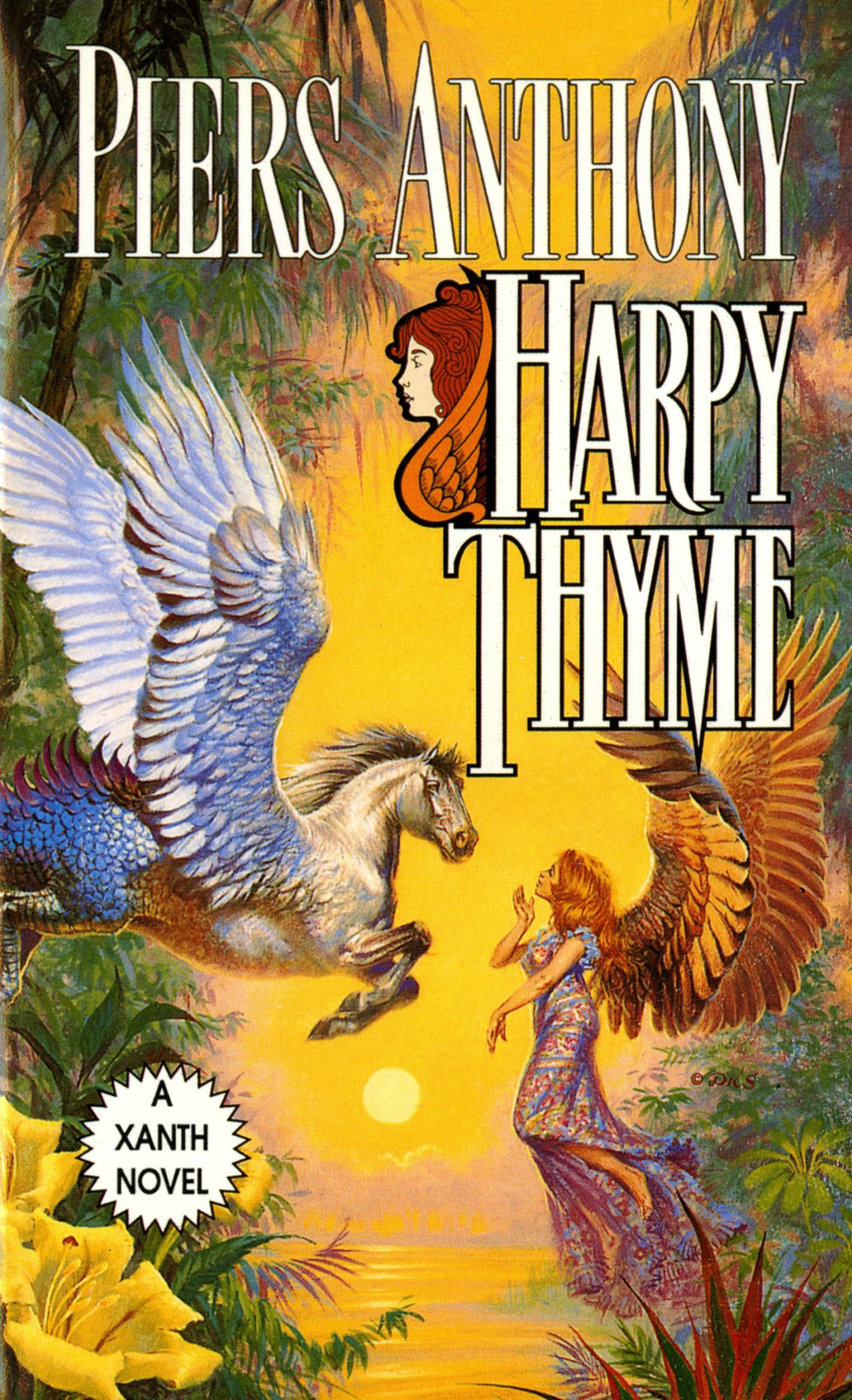 Harpy Thyme Xanth 17 By Piers Anthony