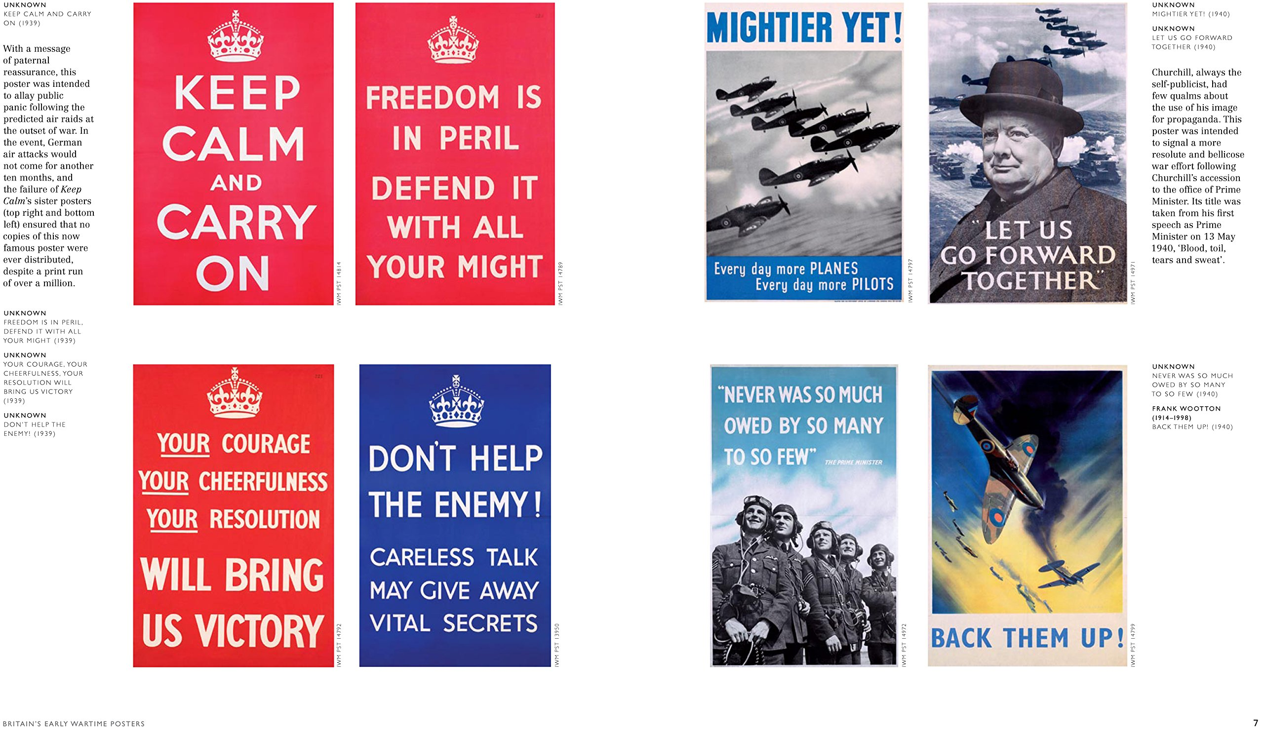 Vintage Freedom Is In Peril World War II Propaganda Poster Art Print A4