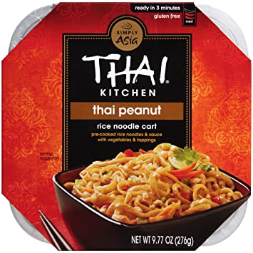 Amazon.com: Thai Kitchen Thai Peanut Rice Noodle Cart, 9.77 oz ...