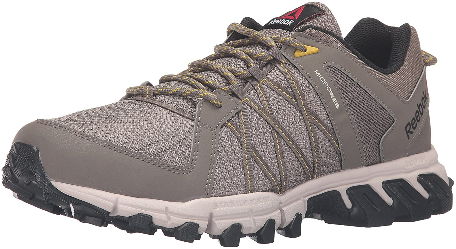 Amazon.com | Reebok Mens Trailgrip RS 5.0 Running Shoe, Cliff Stone/Sand Stone, 14 M US | Athletic