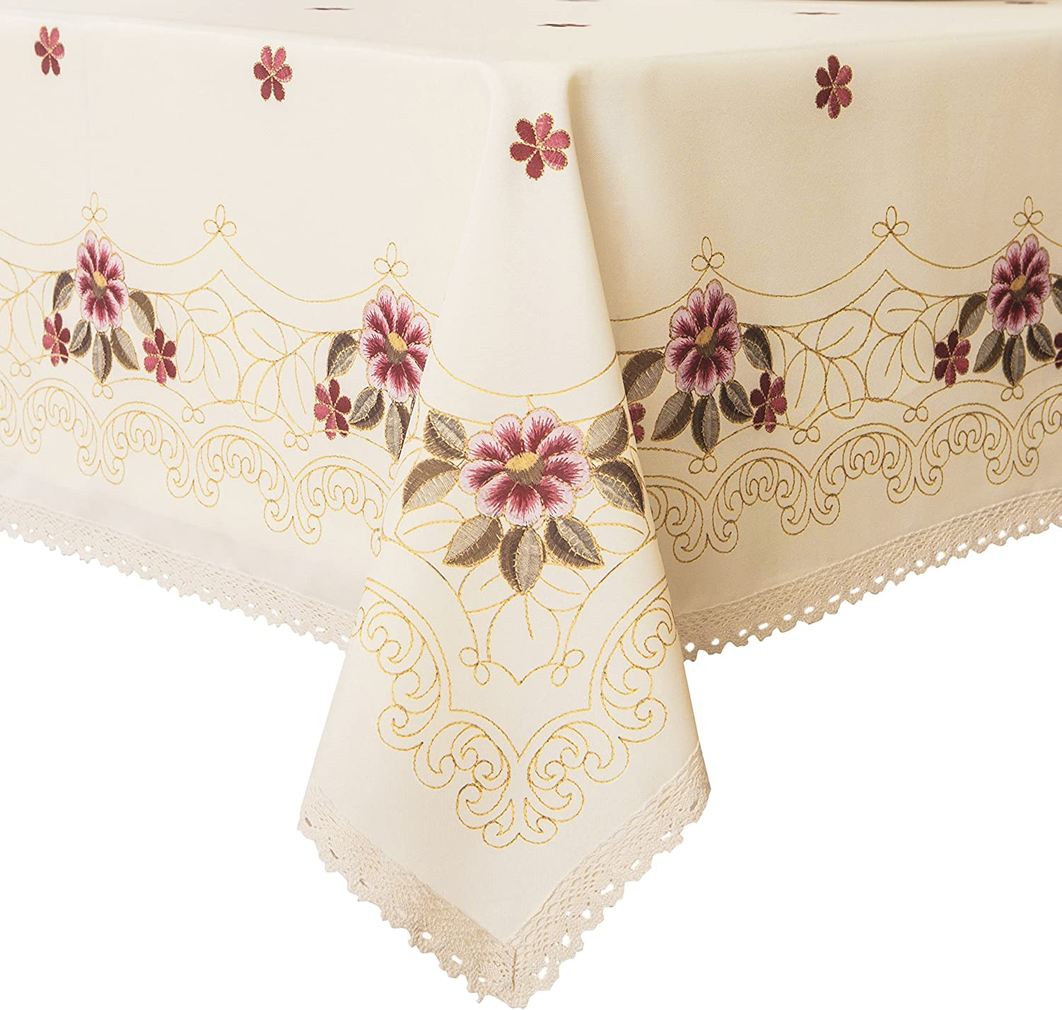 Amazon Com Wewoch Decorative Red Floral Print Lace Water