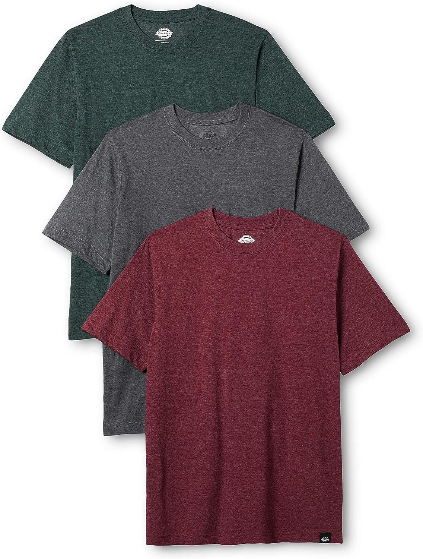 Dickies Hastings, Camiseta para Hombre (Pack de 3)