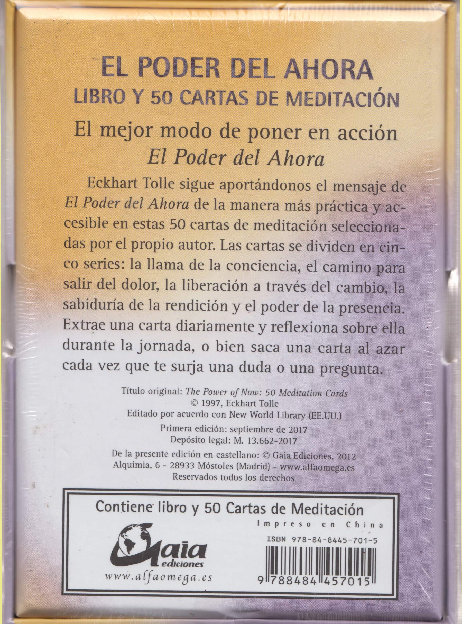 Amazon.com: El poder del ahora : 50 cartas de meditación ...