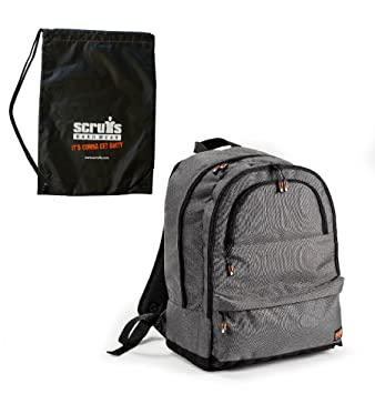 Scruffs Trade Rucksack Water Resistant Insulated Backpack Bag Grey Laptop Boots