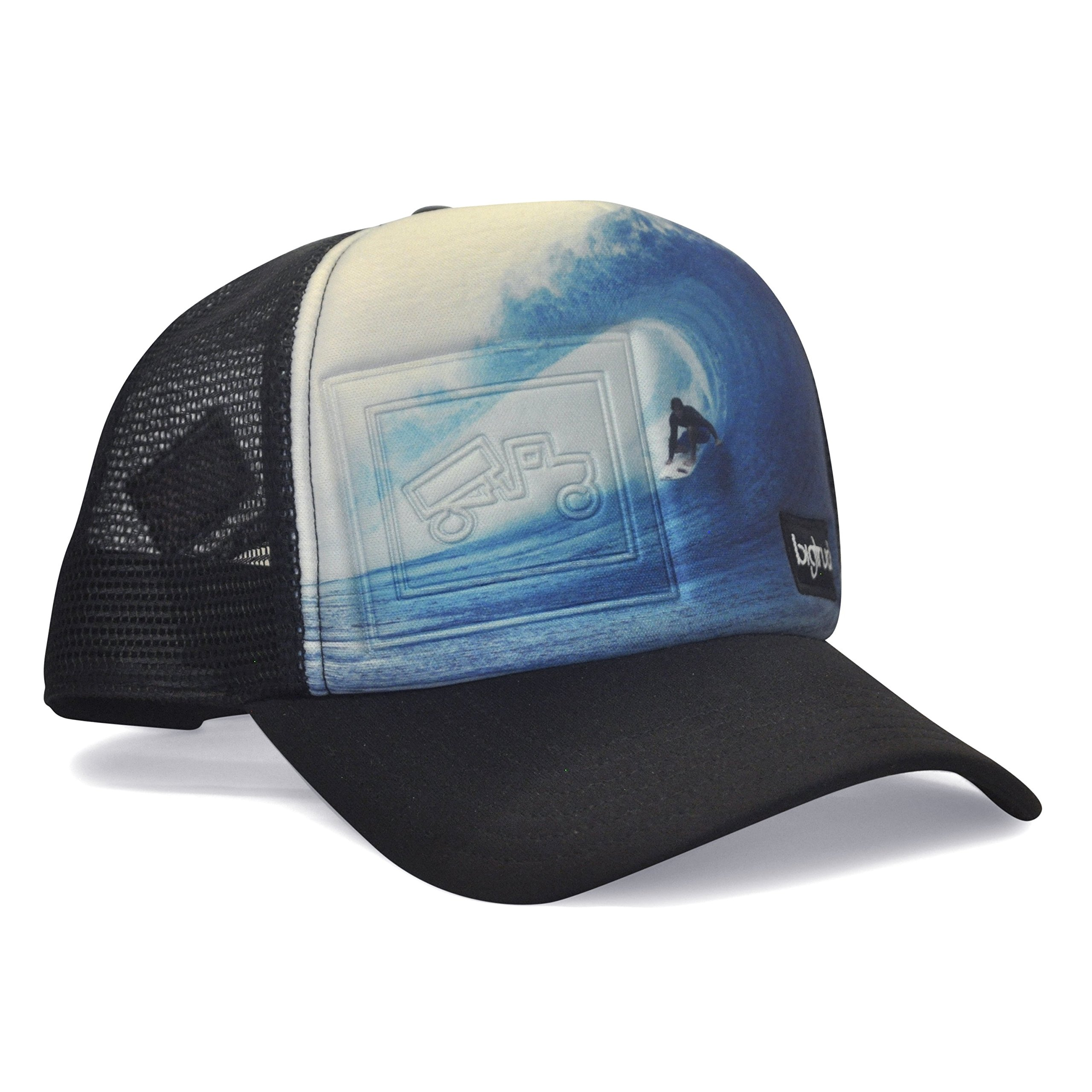 bigtruck Photography Series Original Trucker Hat, Blue Pitted, Adult