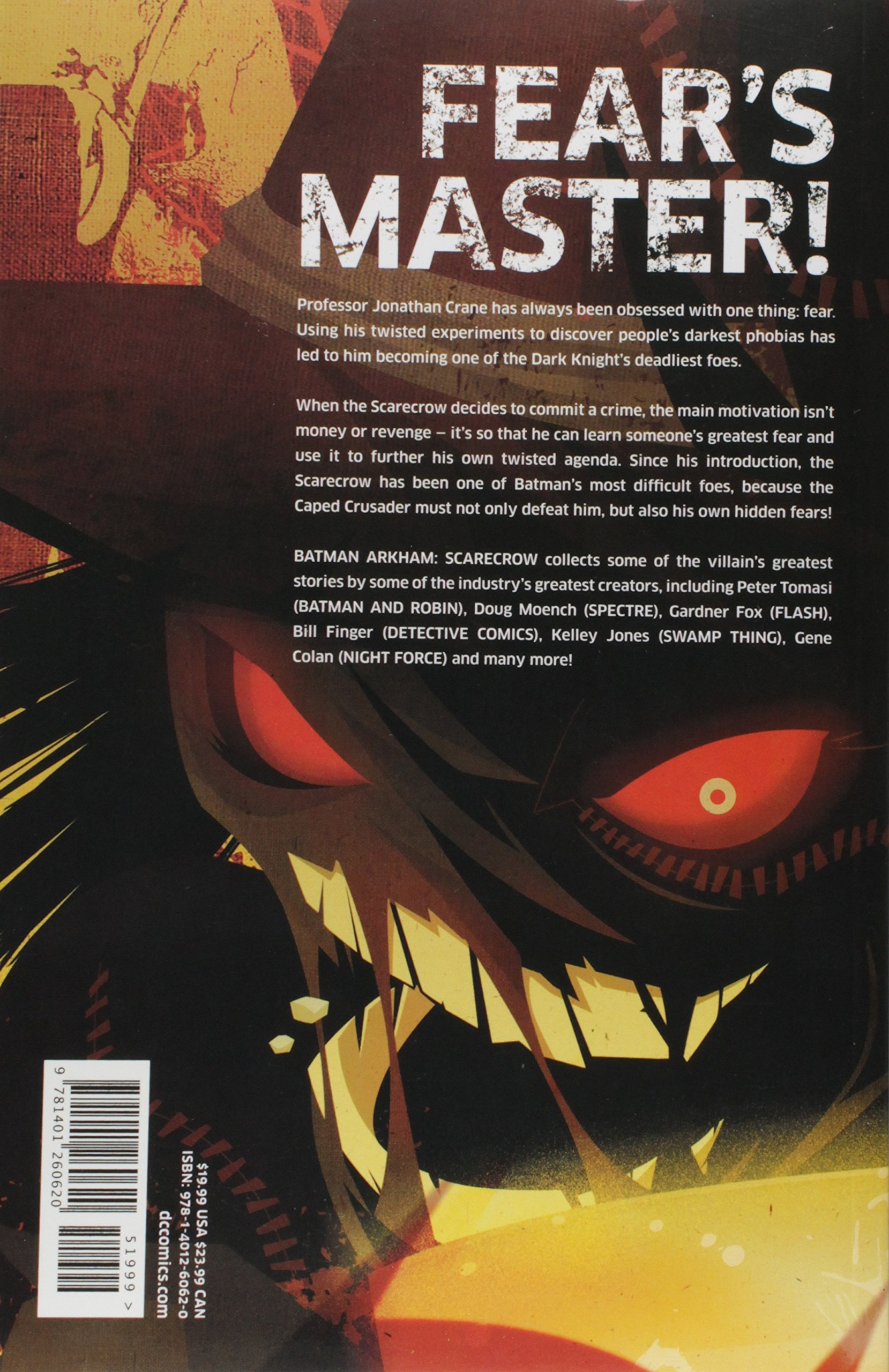 Batman Arkham Scarecrow TP: Amazon.es: Various: Libros en ...