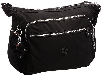 8d6ee493d0 Kipling Gabbie, Women's Shoulder Bag, Schwarz (Black), One Size ...