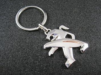 Llavero de metal compatible con Peugeot (M2) lla001-28