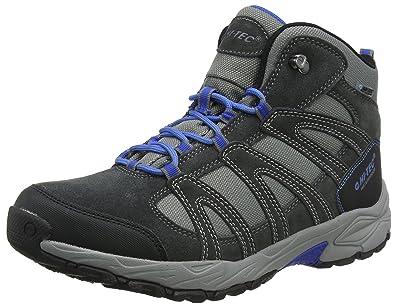 Hi-Tec Wild-Life Luxe I Waterproof, Chaussures de Randonnée Hautes Homme, Noir (Black), 42 EU