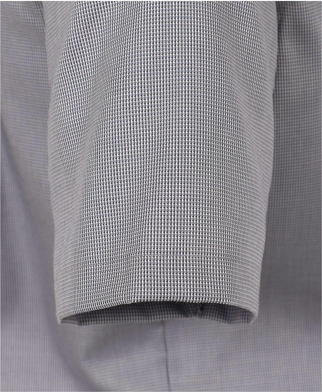 CASAMODA Herren Businesshemd Kurzarm Uni Comfort Fit