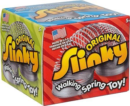 The Original Slinky Metal 60100 Walking Spring Kids Toy
