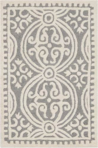 Safavieh CAM123D-2 area rug, 2 x 3 , Silver Ivory