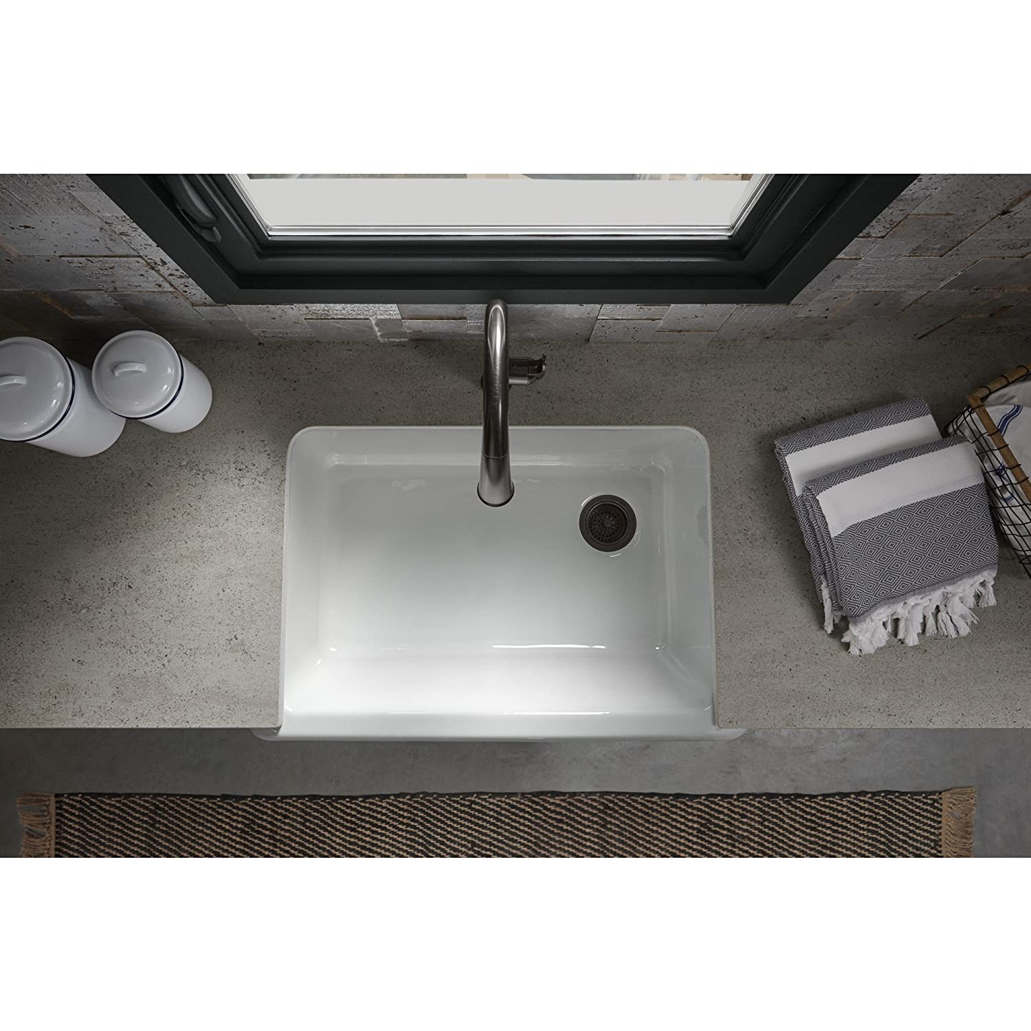 kohler cast iron sink reviews