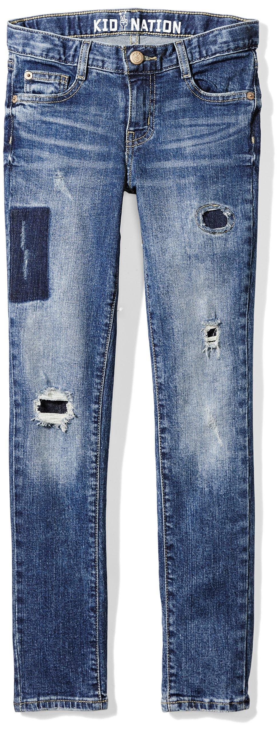 Kid Nation Girls Ankle Crop Jean Size 8