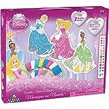 Orb Factory ORB11092 - Loisirs Créatifs - Disney Princesses Aurore, Cendrillon, Tiana - Sticky Mosaiques Autocollantes aux Numéros