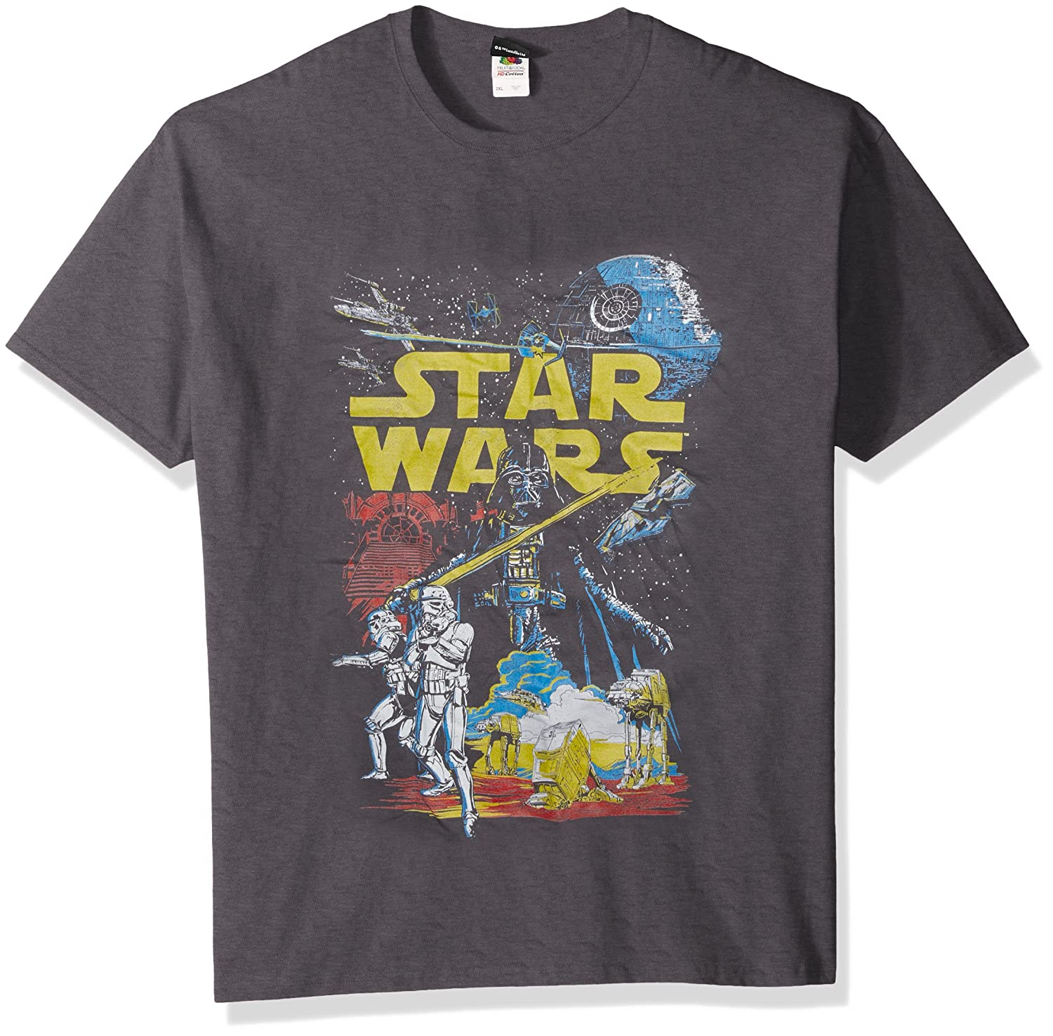 e68387fe1bc Amazon.com  Star Wars Men s Rebel Classic Graphic T-Shirt  Clothing