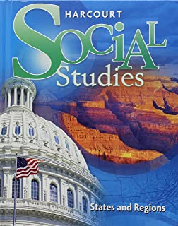 States and regions dr michael j bersom 9780153858994 amazon harcourt social studies student edition grade 4 states and regions 2007 fandeluxe Gallery