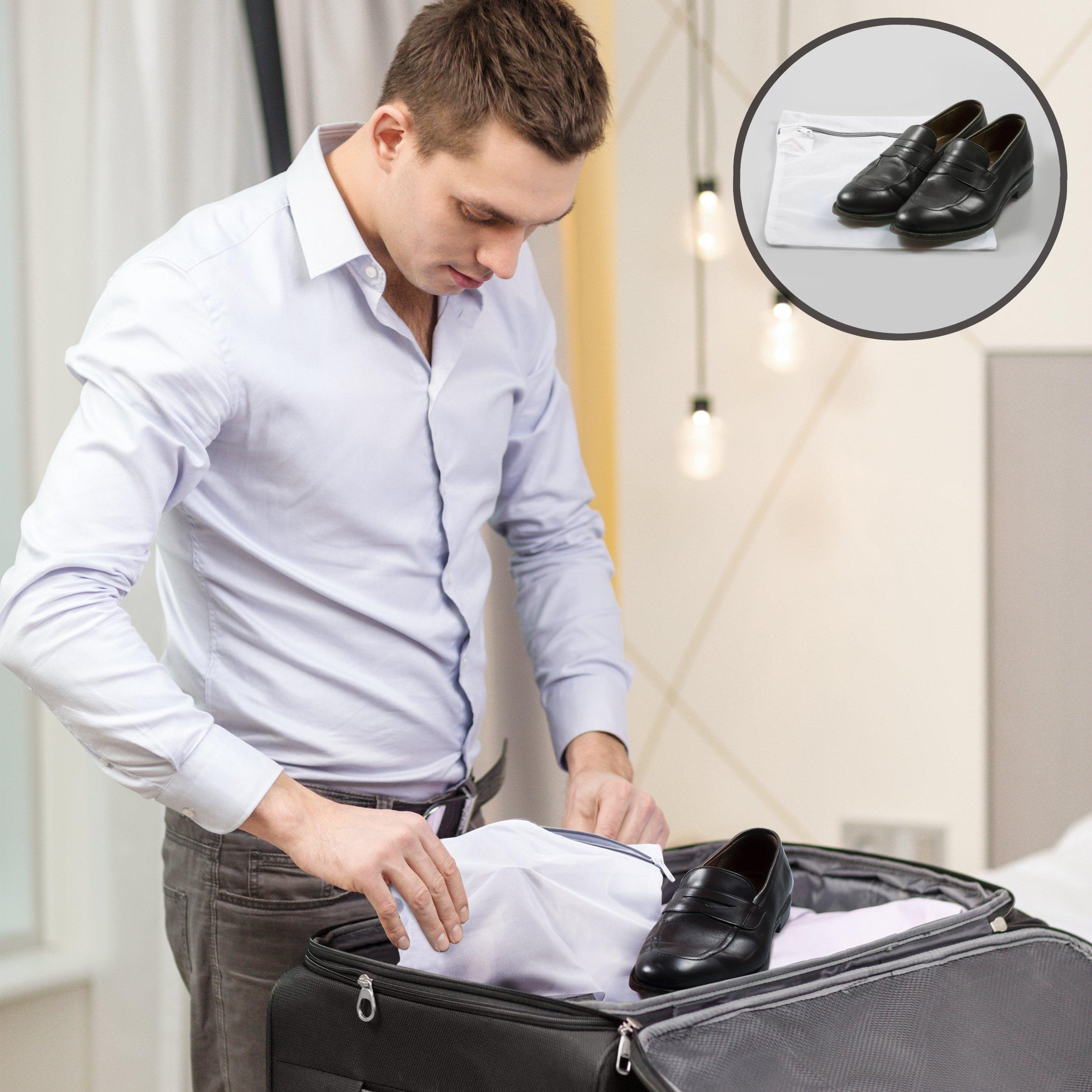 InsideSmarts Delicates Laundry Wash Bags, Set of 4 (2 Medium & 2 Large) by InsideSmarts (Image #7)