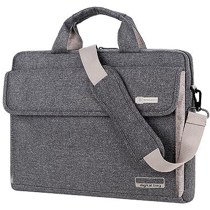 Maletín BRINCH para ordenadores portátiles maletín Oxford bolso de hombro Unisex para ordenadores de 15 pulgadas
