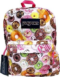 64dea65303b0 Amazon.com   Classic Jansport Superbreak Backpack (Multi Donuts ...