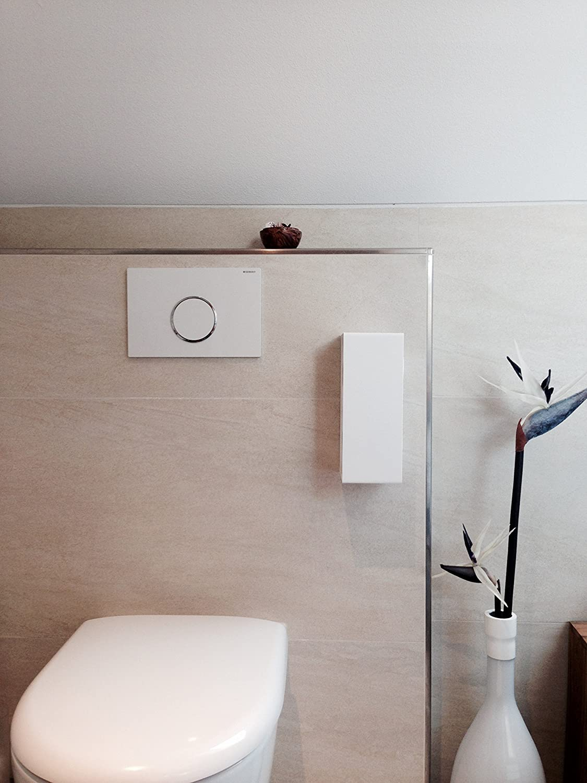 Toilettenpapierhalter Ersatzrollenhalter WC WC WC Bad Toilette weiß selbstklebend ohne bohren B01HOQXO46 Toilettenpapieraufbewahrung 8a7d55