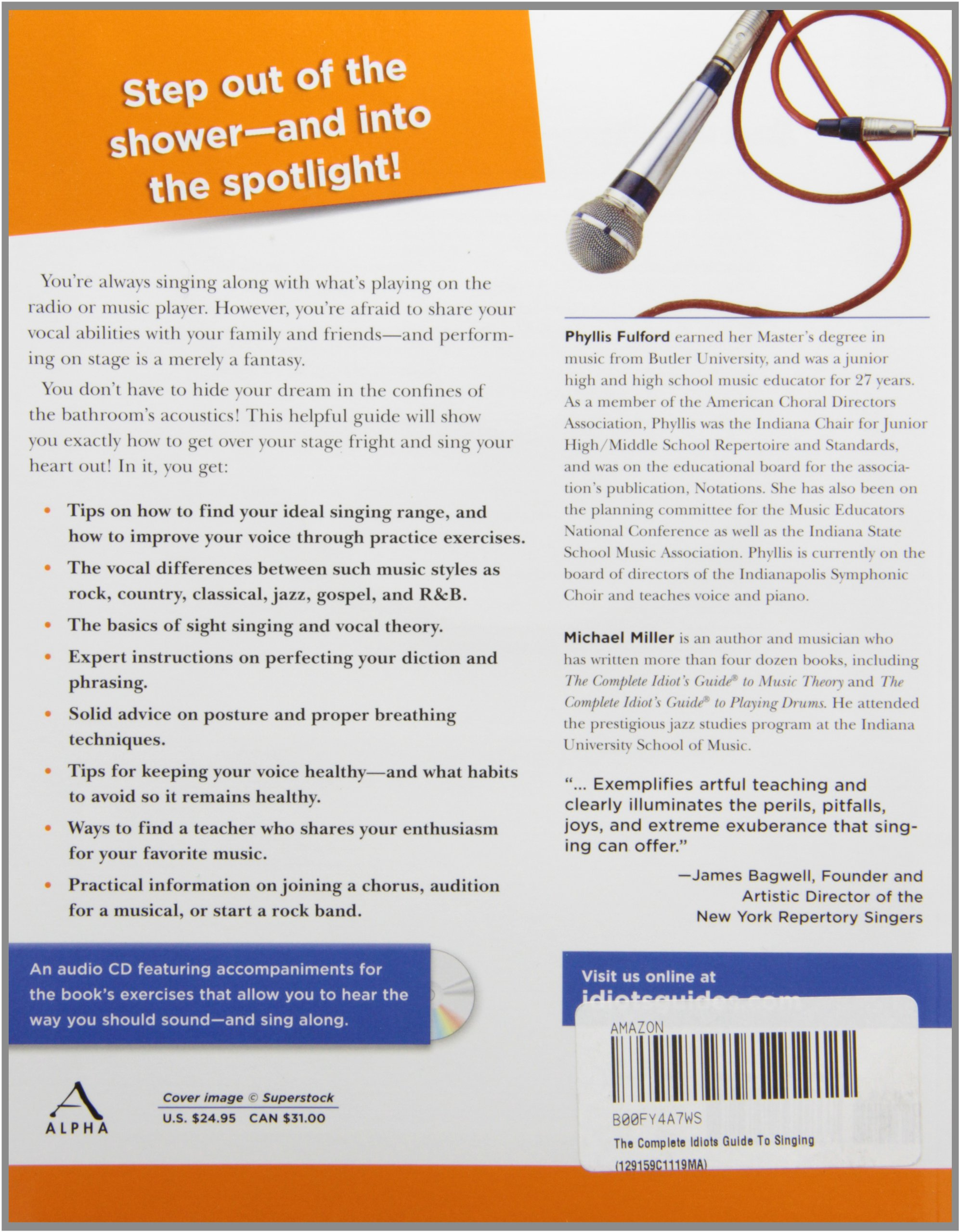The complete idiot's guide to singing (complete idiot's guide to.