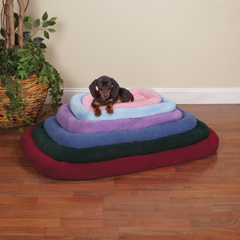 Slumber mascota Sherpa caja Beds - Cómoda bumper-style camas para perros y gatos - pequeño, lavanda: Amazon.es: Productos para mascotas