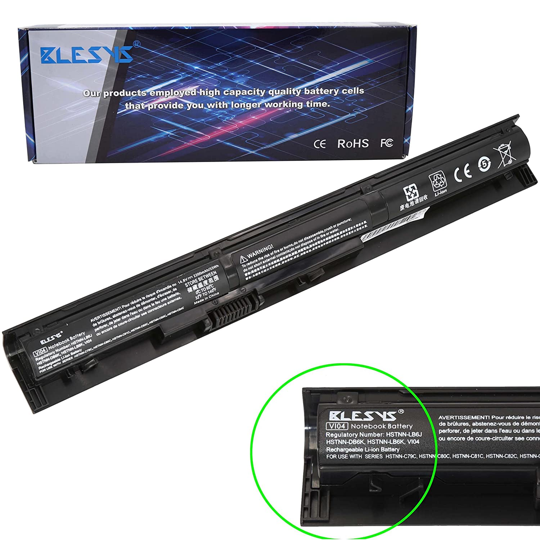 BLESYS HSTNN-LB6I VI04 VI04XL 756479-421 756743-001 HSTNN-DB6I HSTNN-DB6K HSTNN-LB6J HSTNN-LB6K HSTNN-C79C HSTNN-C80C Laptop Battery Compatible with HP ...