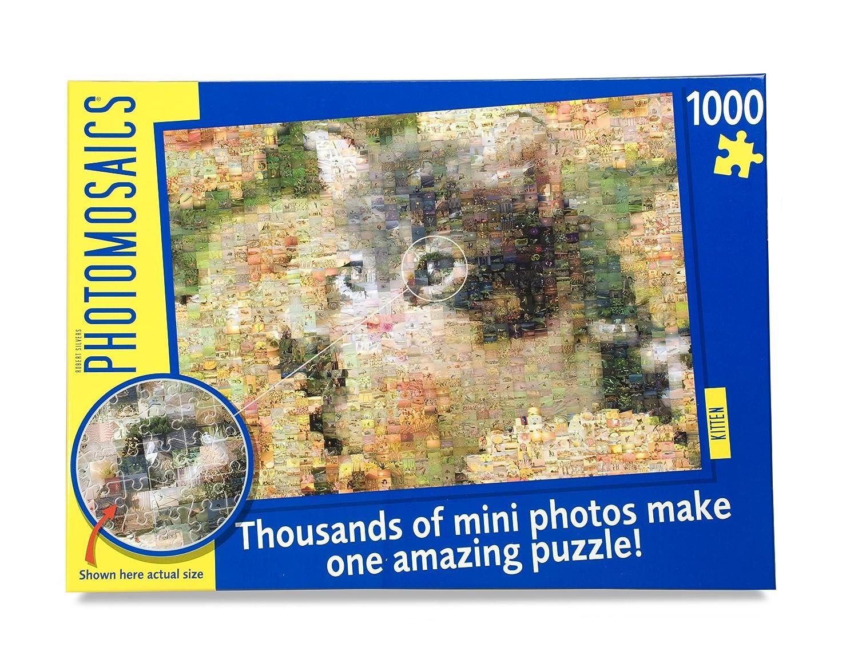 Kätzchen (Kitten) Photomosaic Puzzle 1000 Teile Fotomosaik