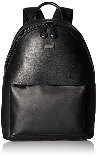 Ted Baker Mens Panthr Leather Backpack Backpacks - Black -  Amazon.co.uk   Clothing a2485c2f64e92