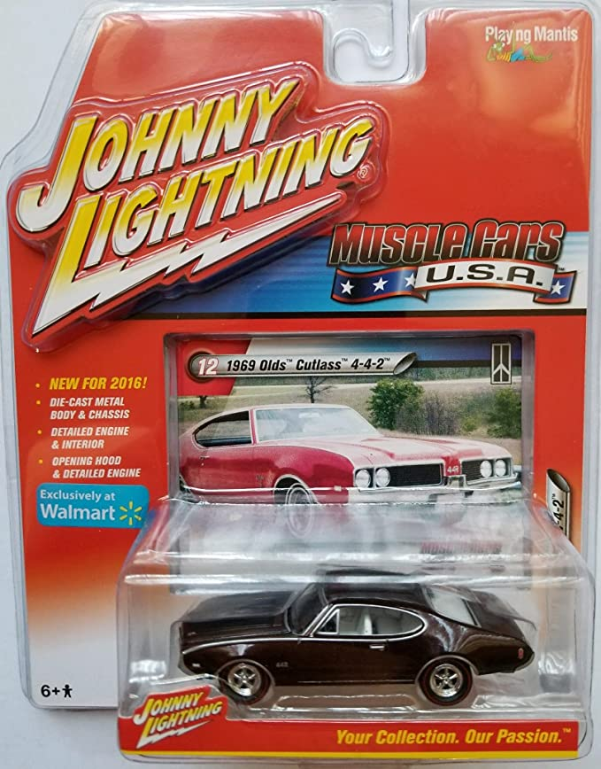 NG114 Johnny Lightning Muscle Cars USA 1970 Olds Cutlass W-31