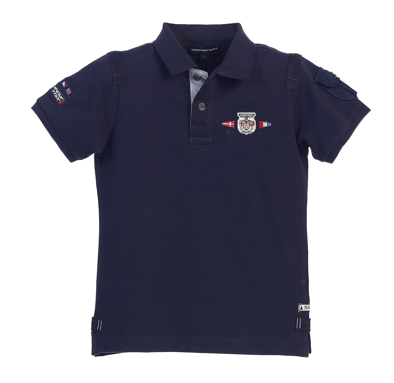 Gioberti Boys Yacht Club Pique Polo Shirt PS-851XP
