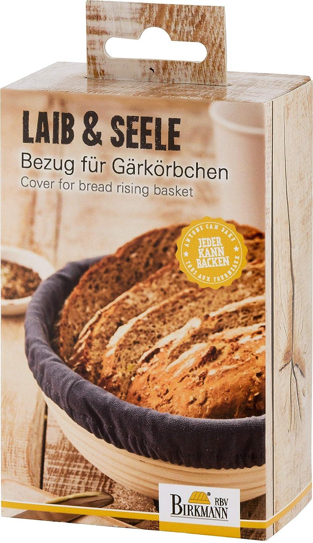 RBV Birkmann 700727 - Funda para cesta de fermentación (algodón ...