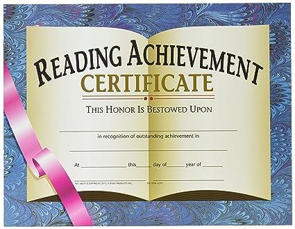 reading achievement certificate  Amazon.com: HAYES SCHOOL PUBLISHING VA577 Reading Achievement ...
