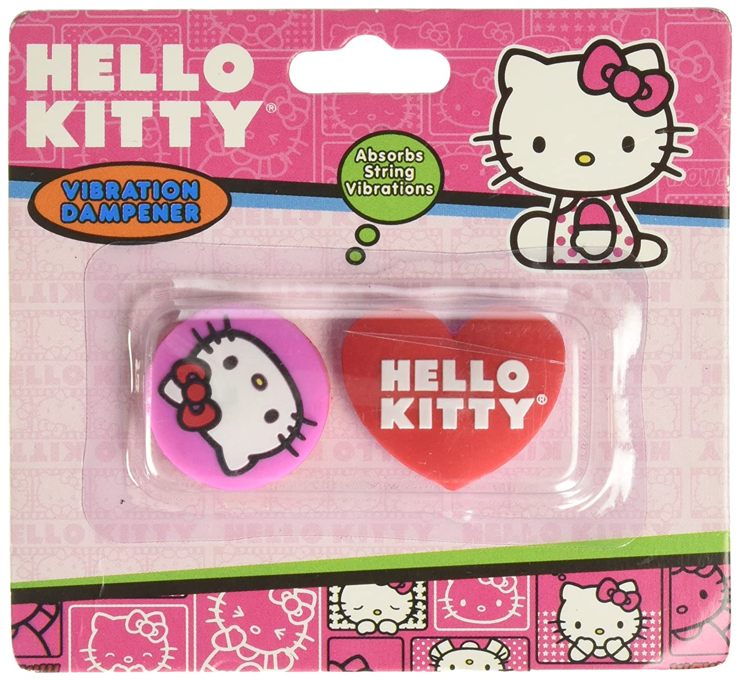 0e879fa92 Amazon.com : Hello Kitty Sports Face and Bow Vibration Dampener : Tennis  Vibration Dampeners : Sports & Outdoors