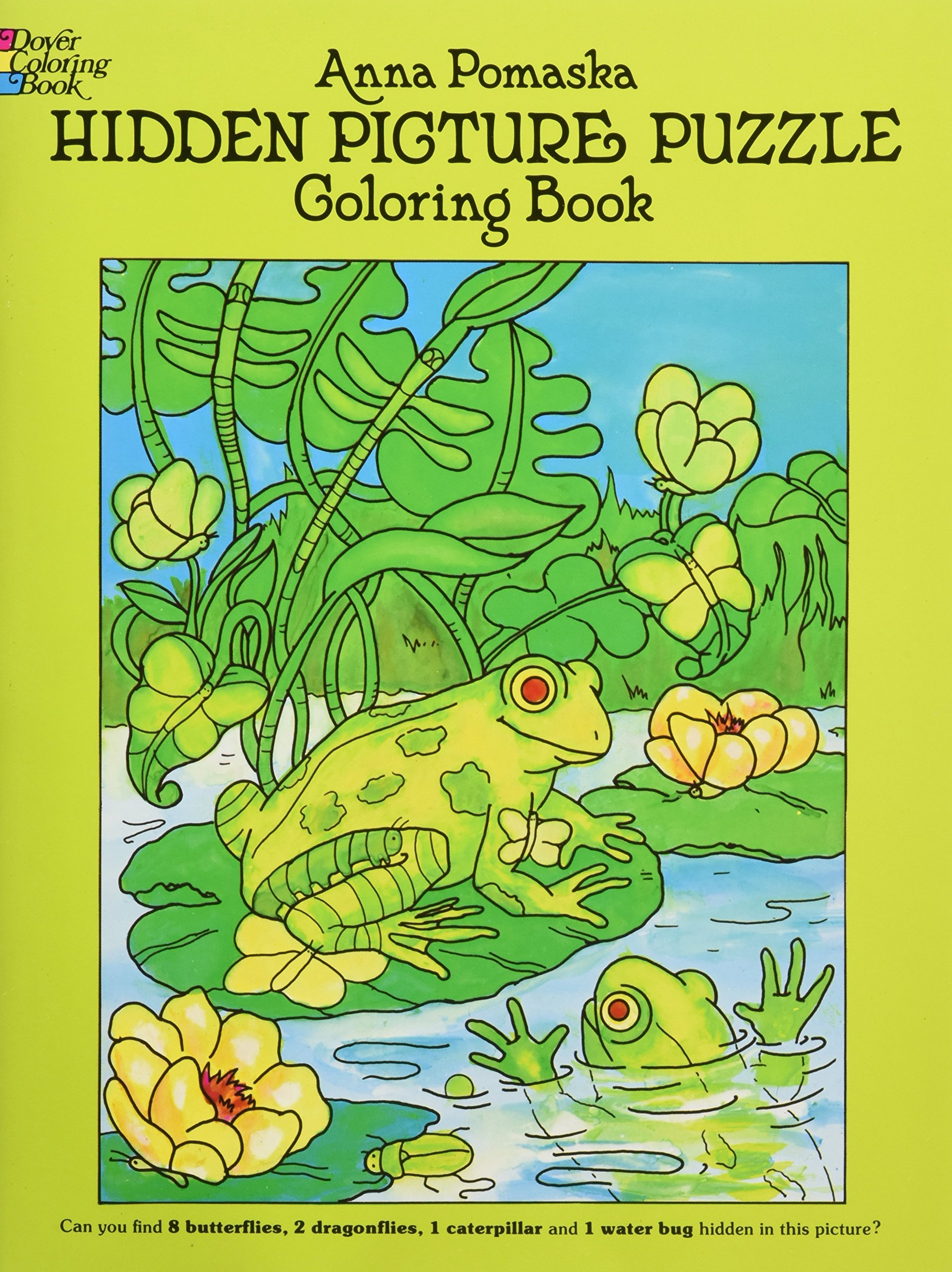 Hidden Picture Puzzle Coloring Book (Dover Children\'s Activity Books ...