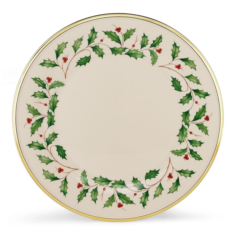 Christmas Holly Dinner Plates